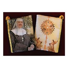 MOTHER ANGELICA TAPESTRY ROSARY POUCH