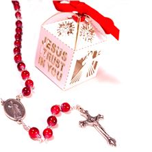 DIVINE MERCY ROSARY IN FANCY BOX