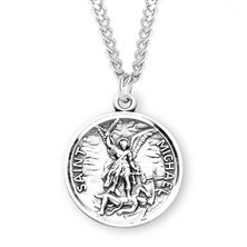 ST. MICHAEL MEDAL WITH PRAYER