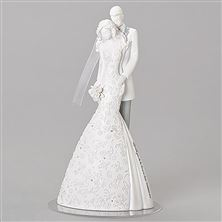 CHERISH WEDDING CAKE TOPPER