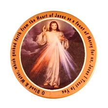 DIVINE MERCY MAGNET WITH PRAYER