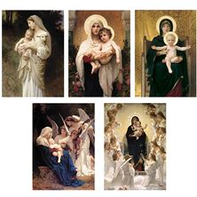 BOUGUEREAU CHRISTMAS CARDS - BOXED SET