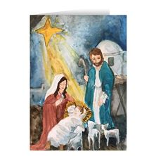 CHILDREN'S ROSARY CHRISTMAS CARDS (BOX OF 25)
