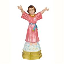 "DIVINO NINO OUTDOOR STATUE - 32"" COLOR"