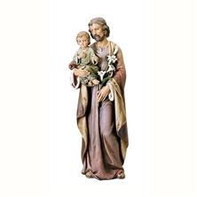 "ST. JOSEPH AND CHILD JESUS 36"" STATUE"