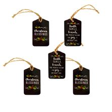 CHRISTMAS BLESSINGS GIFT TAGS (SET OF 5)