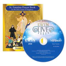 ST. FAUSTINA PRAYER BOOK FOR HOLY SOULS and FREE DVD