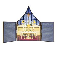 OUR LADY OF THE ANGELS CHAPEL TRIPTYCH
