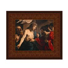 THE INCREDULITY OF ST. THOMAS FRAMED CANVAS