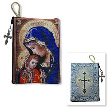MADONNA GENTLE COMFORTER ICON ROSARY POUCH