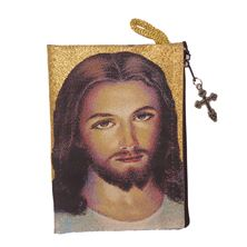FACE OF JESUS - ROSARY POUCH