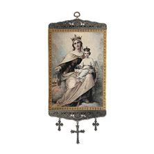 OUR LADY OF MT. CARMEL TAPESTRY WALL HANGING