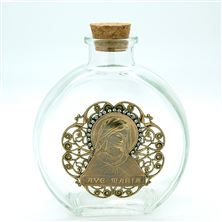 AVE MARIA VINTAGE HOLY WATER BOTTLE