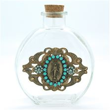 MIRACULOUS MEDAL VINTAGE HOLY WATER BOTTLE