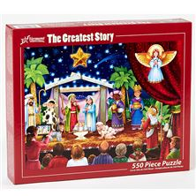 THE GREATEST STORY 550 PC. JIGSAW PUZZLE