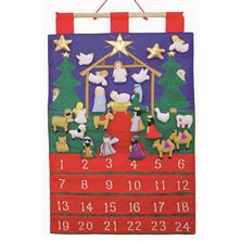 TIDINGS OF JOY FABRIC ADVENT CALENDAR