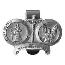 ST. CHRISTOPHER VISOR CLIP - SON