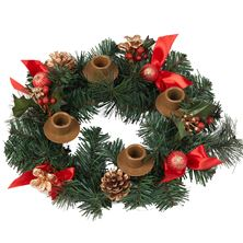 RED BERRY ADVENT WREATH