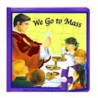 WE GO TO MASS - PUZZLE BOOK